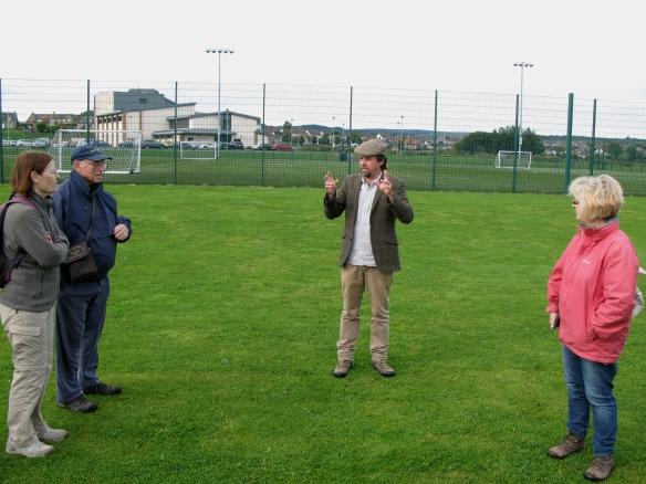 Tony Pollard berättar varför slaget inte kan ha utkämpats där Bannockburns skola står idag, något många historiker har hävdat.